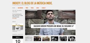 Página web de actualidad musical.